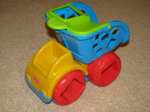 Fisher-Price dömper