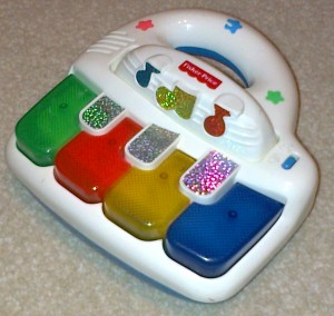 Fisher-Price zongora, 1999