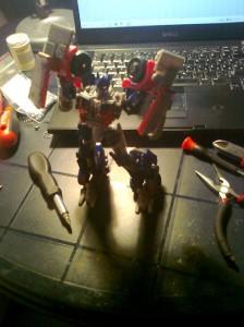 Optimus Prime Transofrmers figura