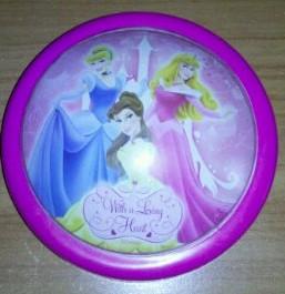 Disney hercegnős lámpa